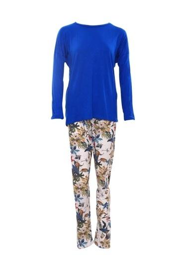 Lingabooms Pijama Takım Mavi